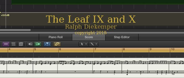 The Leaf IX & X