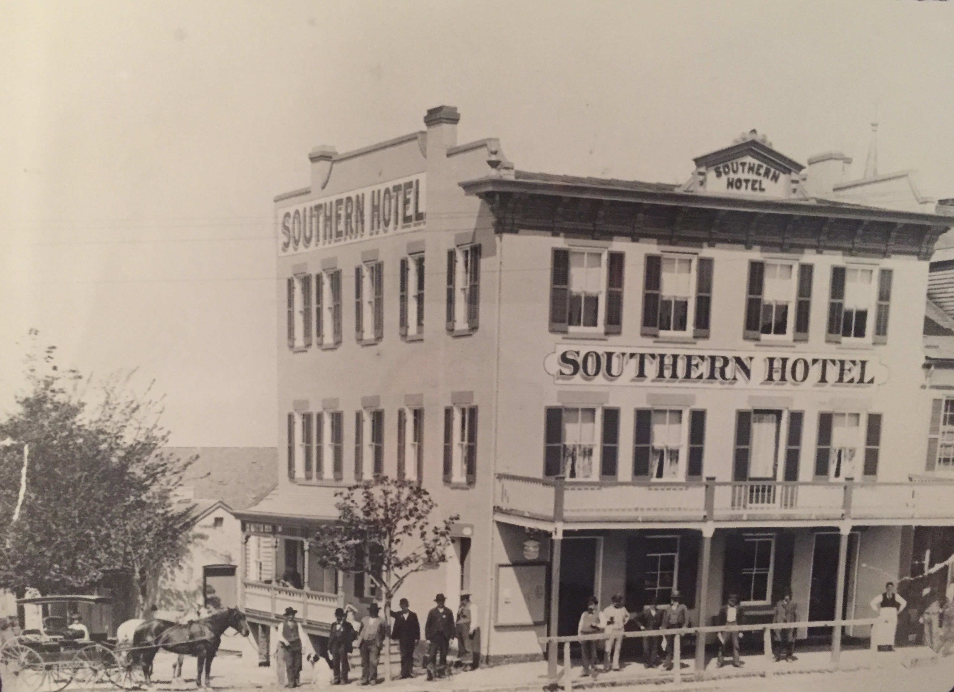 Southern Hotel circa Early 1900s